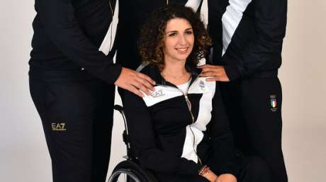 Michele Frangilli, Marco Galiazzo, Mauro Nespoli e Elisabetta Mijno