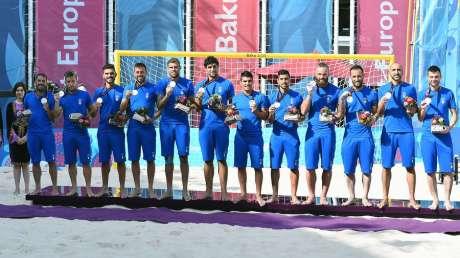 Baku 2015 - Italia Beach Soccer argento
