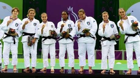 Baku 2015 - Judo, Italdonne vince il bronzo
