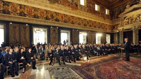CONI Mattarella Foto Simone Ferraro - GMT 012