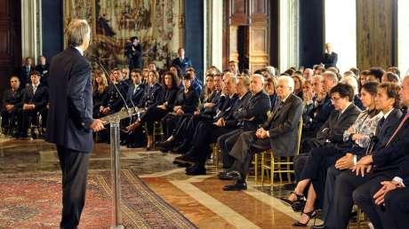 CONI Mattarella Foto Simone Ferraro - GMT 017