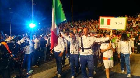 Cerimonia di Apertura dei Mediterranean Beach Games