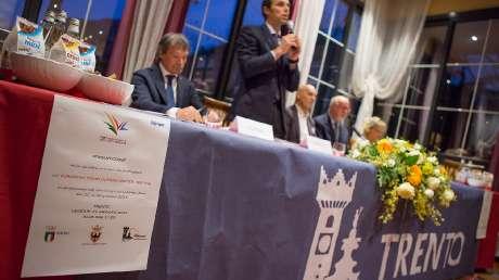 02 Il Vice Segretario del CONI e Responsabile della Preparazione Olimpica, Carlo Mornati, presenta la missione azzurra