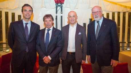 03 Carlo Mornati con Flavio Roda, Tiziano Mellarini e Sergio Anesi