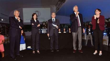 Cagnotto, Conti e Clapcich ritirano il Premio Onesti