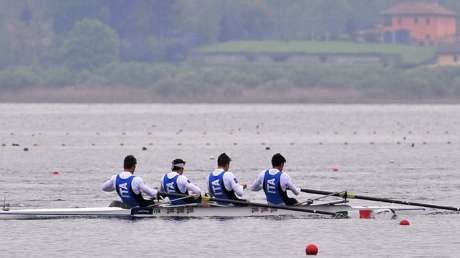 World Cup di canottaggio a Varese con l'Italia Team