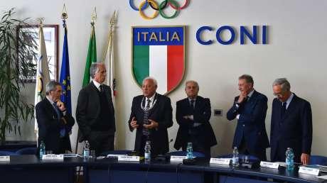 Collare Olimpico a Bartolo Consolo, Stelle d'Oro ai neo Presidenti di Discipline Associate