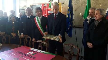 Il Piemonte abbraccia Malagò, Valdengo gli dà la cittadinanza onoraria