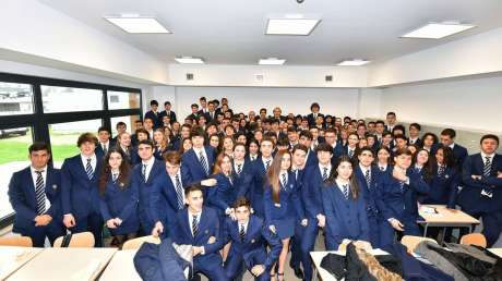 Malagò inaugura all'Acqua Acetosa il Liceo Scientifico Sportivo