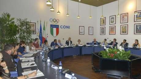 Masciadri Presidente della Commissione atleti, Kelum Asanka Perera Vice Presidente