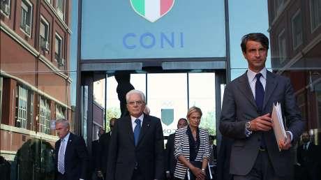 Mattarella al CONI, prima storica visita di un Capo di Stato