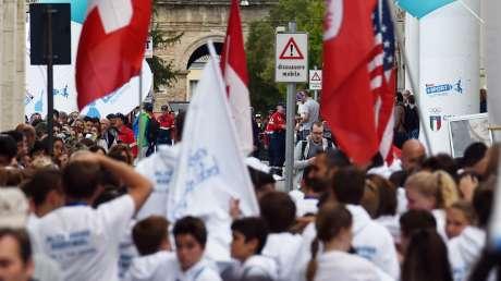 Senigallia in festa: cerimonia di apertura della quarta edizione del Trofeo CONI