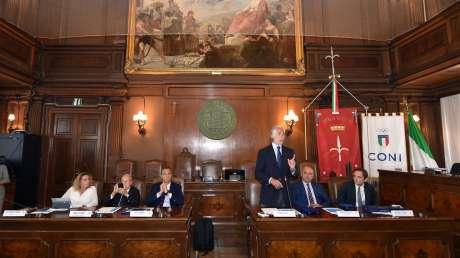 La Giunta Nazionale per la prima volta a Trieste