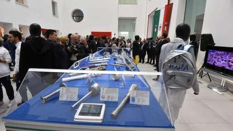 Malagò inaugura la mostra delle fiaccole al Museo Archeologico di Reggio Calabria