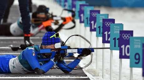 Mass start di Biathlon, Windisch e Hofer lontani dal podio