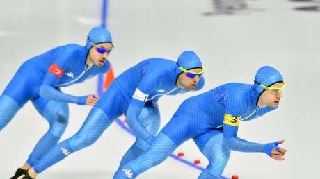 Pattinaggio di velocità: Team pursuit e 500 metri femminili