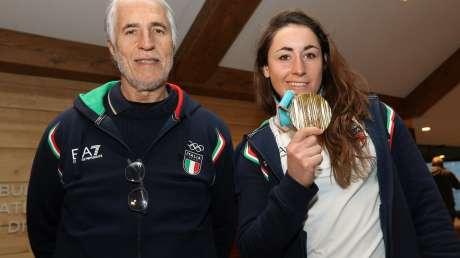 Sofia Goggia porta l'oro a Casa Italia
