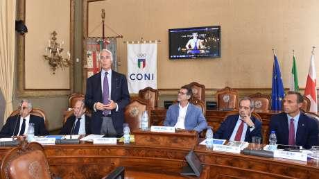 Storica Giunta Nazionale a Bologna