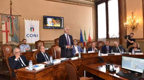 180920 031 Giunta CONI foto Simone Ferraro