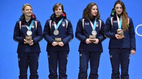 Tanta Italia nella Medal Plaza