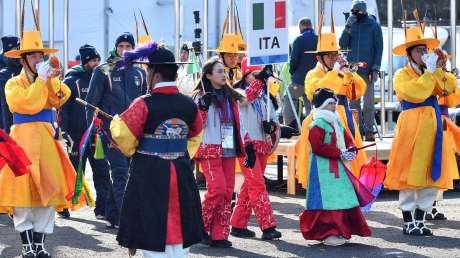 07 Welcome Ceremony Ferraro-Pagliaricci - GMT