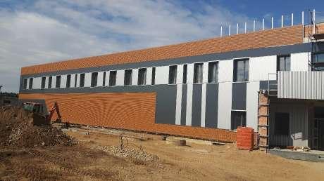 shooting centre dello sporting club in costruzione