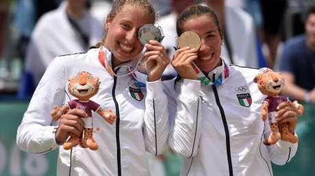 YOG, Scampoli-Bertozzi, coppia d'argento nel beach volley