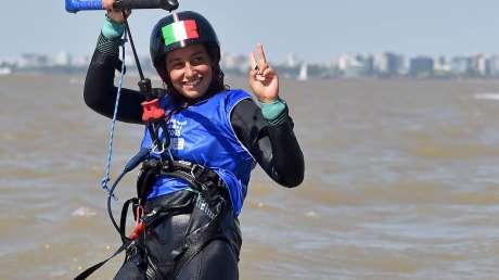 YOG, Tomasoni vola verso l'oro del kiteboard