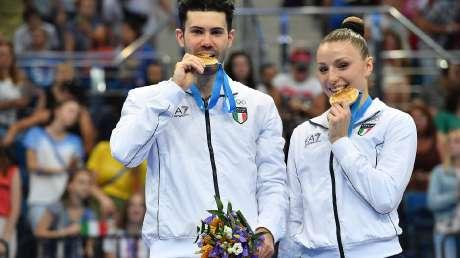 Medaglie, premiazioni e gare ai Giochi Europei