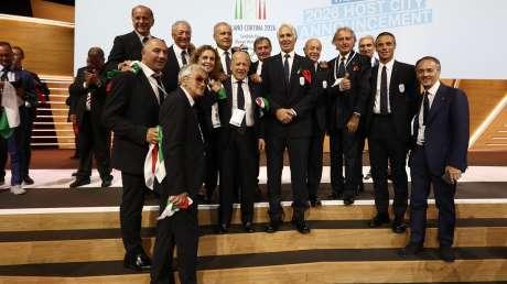 20190624 Assegnazione Olimpiadi2026 MilanoCortina Vincitrice Foto Pagliaricci GMT Sport058