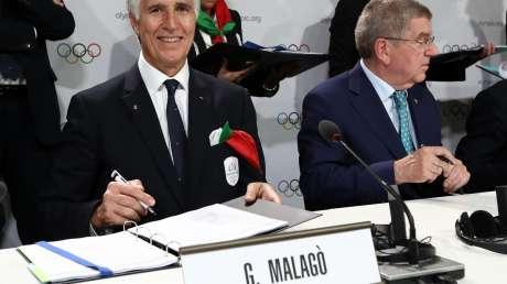 20190624 Conferenza Stampa MilanoCortina2026 Foto Pagliaricci GMT Sport012