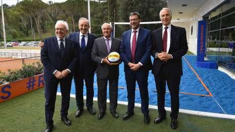 Presentazione delle FIVB Beach Volleyball Roma Finals
