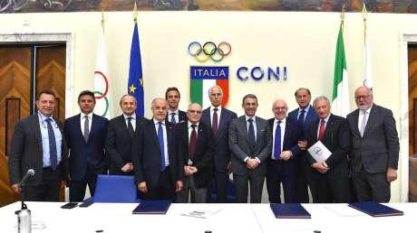 """Protocollo con il Ministero dell'Ambiente per uno sport """"plastic free"""""""