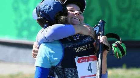 Tante medaglie azzurre ai Giochi Europei