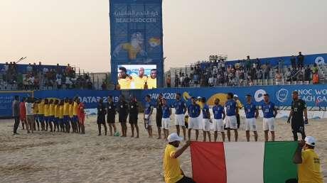 World Beach Games, esordio vincente per gli azzurri del Beach Soccer
