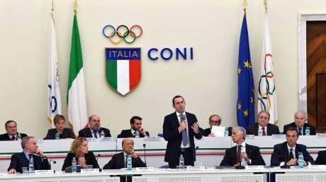 Il Consiglio Nazionale con il Ministro dello Sport Vincenzo Spadafora