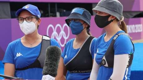 Tiro con Arco Team donne Foto Sergio Bisi GMT Sport BISI0305