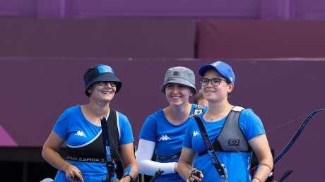 Tiro con Arco Team donne Foto Sergio Bisi GMT Sport BISI1683