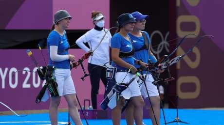 Tiro con Arco Team donne Foto Sergio Bisi GMT Sport BISI1826