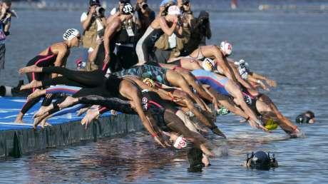 Nuoto 10km Donne Bruni foto Luca Pagliaricci GMT _PAG9366 copia