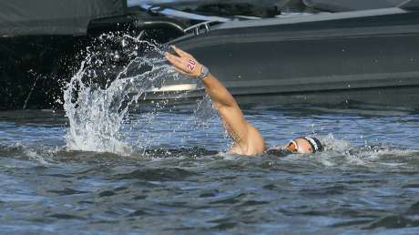 Nuoto 10km Donne Bruni foto Luca Pagliaricci GMT _PAG9516 copia