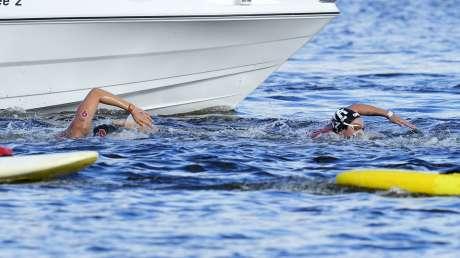 Nuoto 10km Donne Bruni foto Luca Pagliaricci GMT _PAG9651 copia