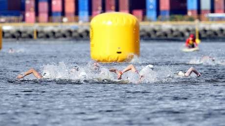 Nuoto 10km Donne Bruni foto Luca Pagliaricci GMT _PAG9936 copia