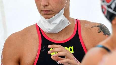 Nuoto 10km Donne Bruni foto Luca Pagliaricci GMT ABI_5786
