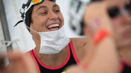 Nuoto 10km Donne Bruni foto Luca Pagliaricci GMT ABI_5800