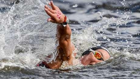 Nuoto 10km Donne Bruni foto Luca Pagliaricci GMT ABI_6294 copia