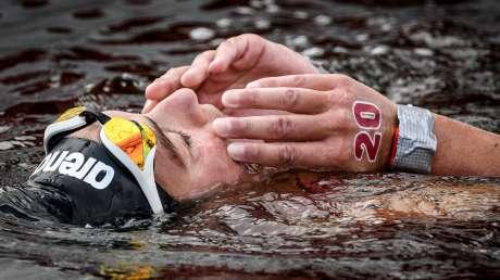 Nuoto 10km Donne Bruni foto Luca Pagliaricci GMT ABI_6392