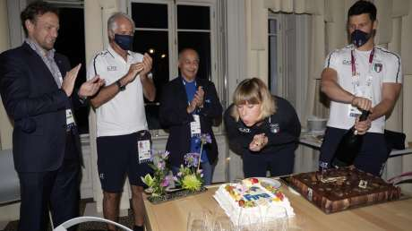 Pellegrini Compleanno Casa Italia Foto Luca Pagliaricci GMT _PAG2251 copia