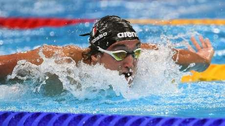 Federico Burdisso bronzo nuoto Foto Mezzelani GMT (c)011