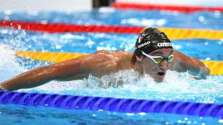 Federico Burdisso bronzo nuoto Foto Mezzelani GMT (c)018